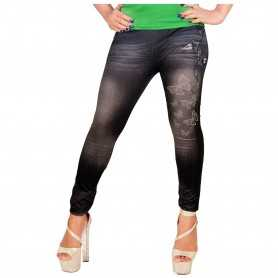 butterfly printed Jeggings Seamless