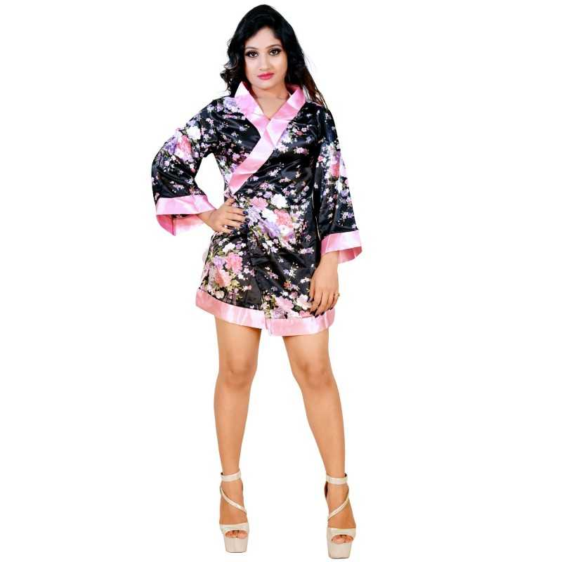 Kimono Dress Dress G string Band Set WLBD-001