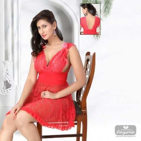 Red Gorgeous Hot & Sexy Sleepwear WLSLW-001