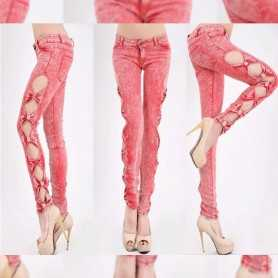 Sexy Jeans Trousers Jeggings WLSJ-003