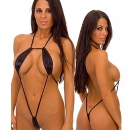 Hot Black Exotic seductive One piece Teddy Lignerie